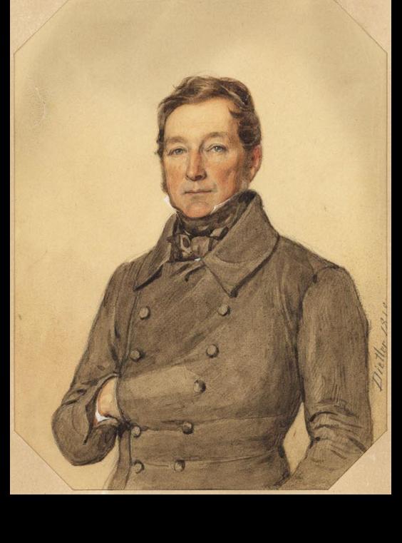 Austrian Officer- Alfred von Goumoëns (1819-1876)